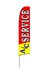 AC Service Feather Flag
