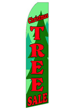 Christmas Tree Sale Feather Flag