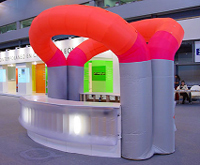Custom Inflatable Booth