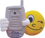 Custom Inflatable Cellphone Smiley