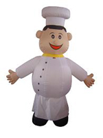 Custom Inflatable Chef