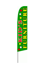 Kids Furniture Feather Flag