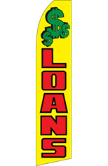 LOANS ($$$) Feather Flag