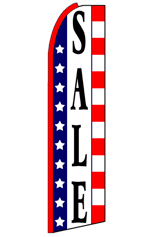 SALE (Stars & Stripes) Feather Flag