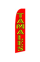 Tamales Feather Flag