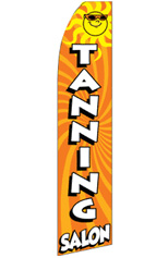 Tanning Salon (Sun) Feather Flag