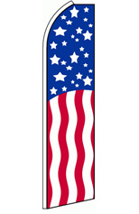 USA PRIDE (Vertical) Feather Flag